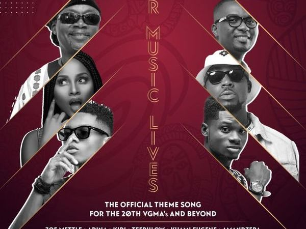 Amandzeba, KiDi, Kuami Eugene and Other Stars Team Up for Official VGMA 20th Anniversary Song