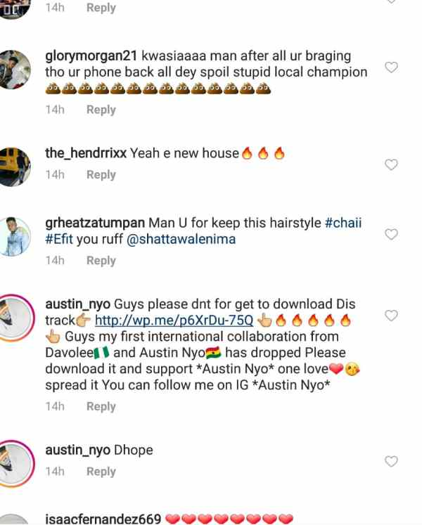 s.. - PHOTO+SCREENSHOT: Social Media Users Teases Shatta Wale For Flaunting Cracked iPhone