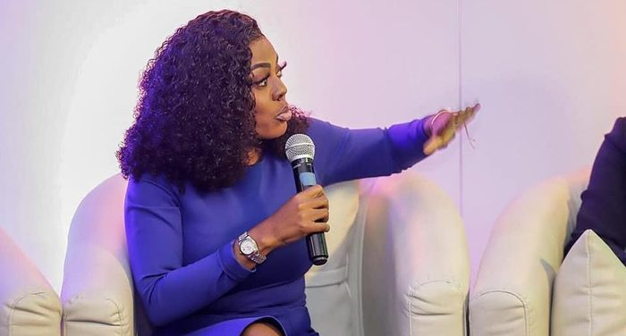 Nana Aba 700x - VIDEO: 'Ghanaians Should Wake Up And Teach NPP And NDC A Lesson – They're Taken Us For A Ride' – Nana Aba Anamoah Fumes