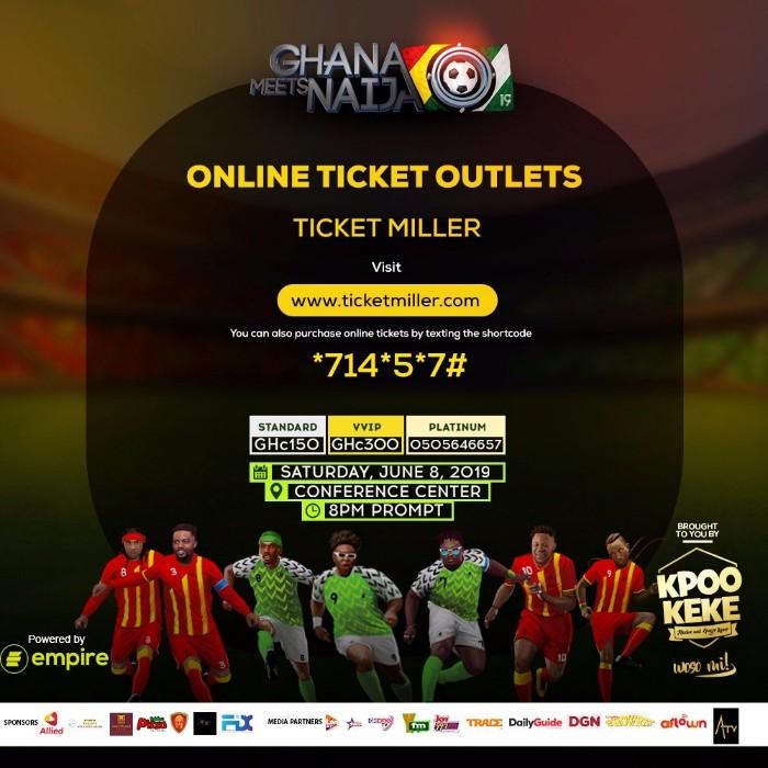 ghana meets naija 2019
