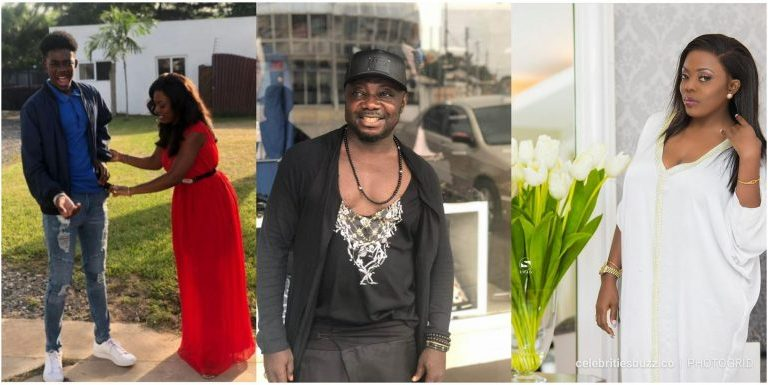 Nana Aba Anamoah's Baby Daddy-Osebo is A Total Disgrace
