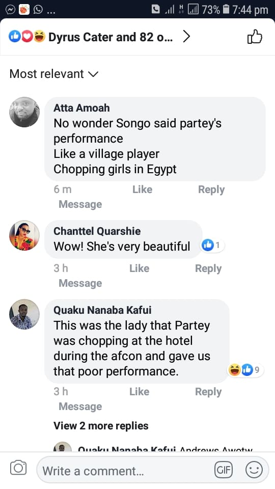 Part 4 - VIDEO: Thomas Partey Visits Nana Aba Anamoah With His Egypt Girlfriend And Social Media Users Are Insulting Her