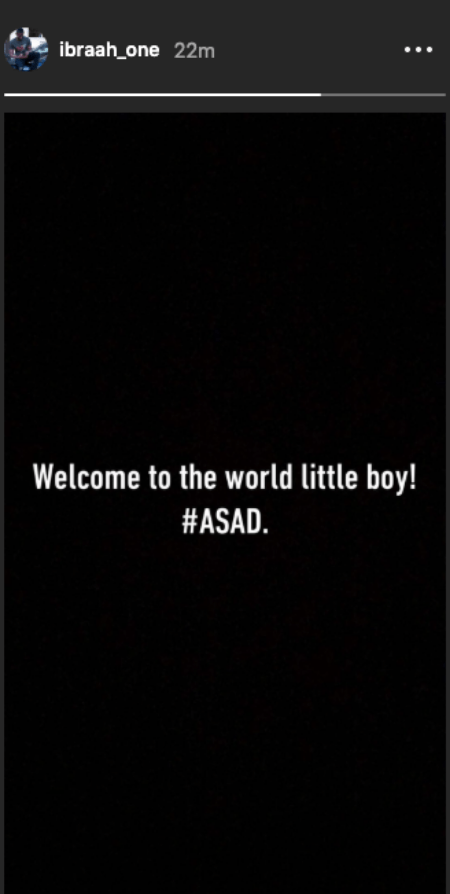 Screenshot 2019 07 11 at 3.32.44 PM - Ibrah One's Wife Kadija Safely Delivers in the U.S – It's A Boy!