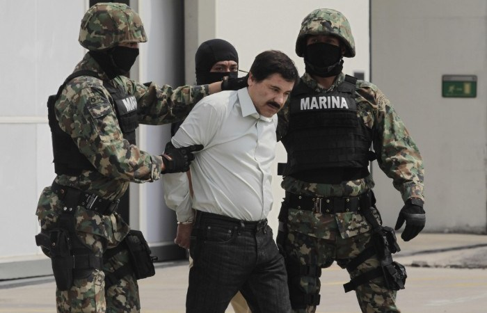 Drug Lord El Chapo Who Has Escaped Mexican Prison Twice, Sentenced to Life in Prison in the U.S