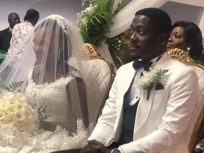 Here Are Photos From Bishop Agyin Asare's Daughter, Charlene and her husband, Elvis Ampah's Wedding Ceremony