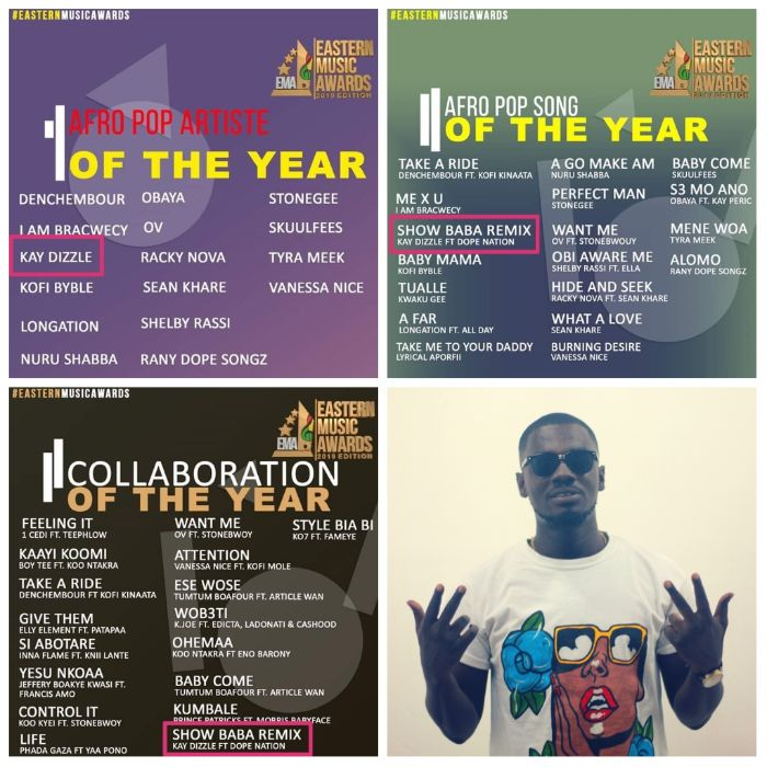 WhatsApp Image 2019 10 14 at 06.55.23 - Kay Dizzle Lands An Impressive 3 Nominations At the 2019 Eastern Music Awards
