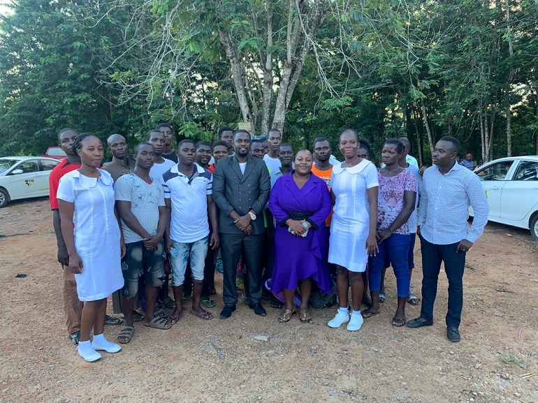 WhatsApp Image 2019 11 01 at 7.22.31 PM - End Point Homeopathic Clinic Frees 20 Inmates from Nsawam Prisons