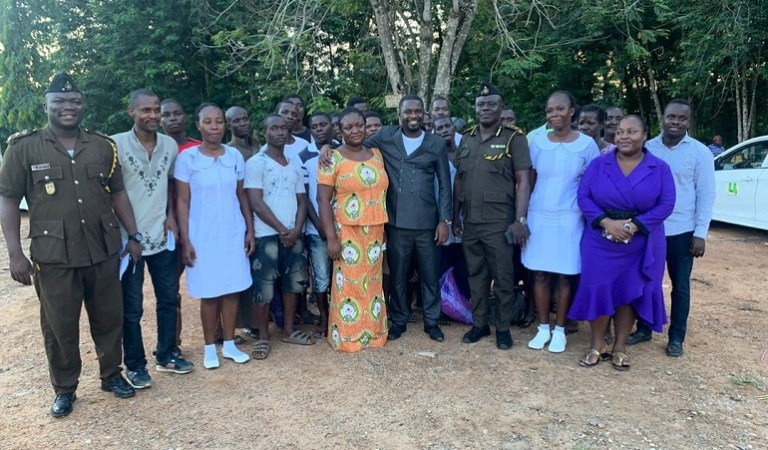 End Point Homeopathic Clinic Frees 20 Inmates from Nsawam Prisons