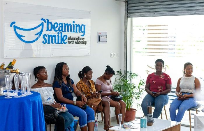 Beaming Smile – Ghanaians Throng Grand Opening of Nana Aba Anamoah Backed Advanced Laser Teeth Whitening Company Located at East Legon