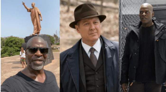 American Actor Hisham Tawfiq Known As Dembe In Blacklist Storms Ghana For Year Of Return