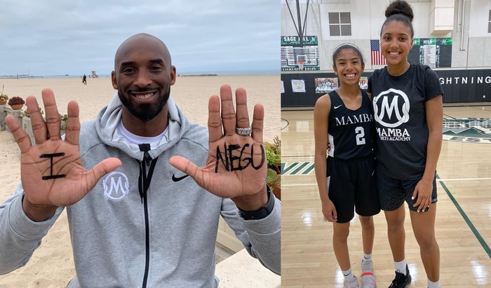 Video Of Kobe Bryant's Daughter Gianna Skillfully Playing Basketball Pops Up