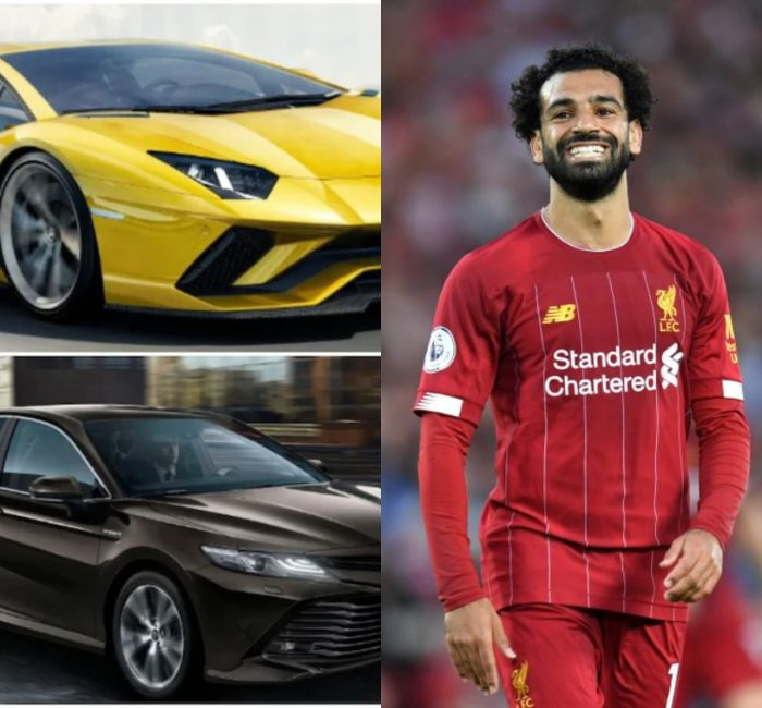 BeFunky collage 2 1 - Mohammed Salah's Car Collection Would Make You Jealous – A Bentley, A Lambo, A Benz Plus MORE – PHOTOS