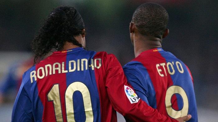 Samuel Eto'o Writes Soul-Stirring Message To Ronaldinho On His Birthday – Leaves Tear In Your Eyes