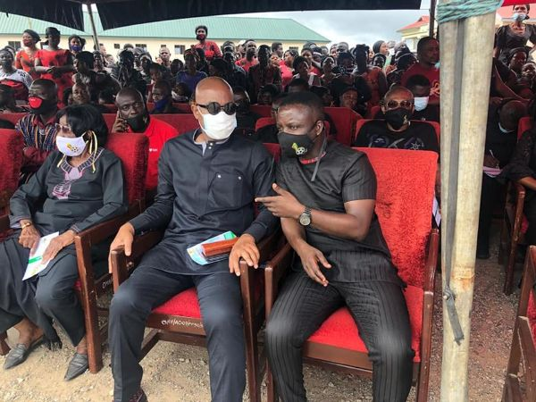 Sad Photos and Video from The Funeral Of The 7 Young Footballers Who Died In Offinso Accident