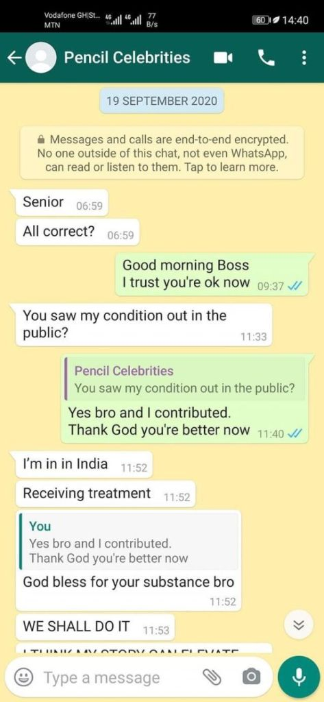 So Sad! - Last Whatsapp Chat Of Ray Styles Before He Died Surfaces (