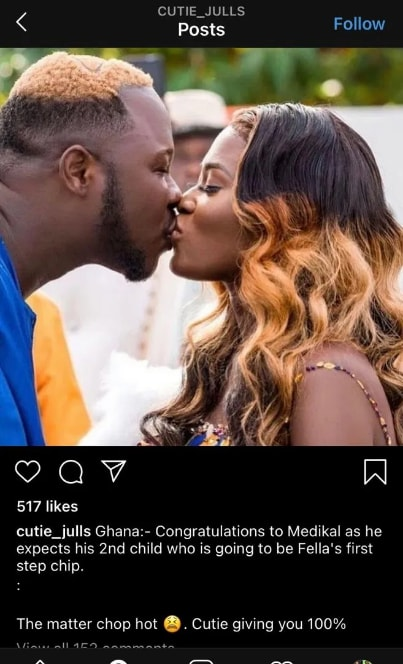 Medikal Is Allegedly Expecting Baby No 2 But Not With Fella – Insider Drops Juicy Details 2