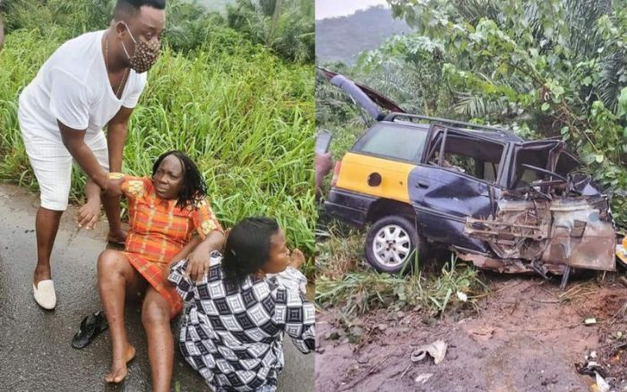 Prophet Nigel Gaisie Reportedly Involved In A Ghastly Accident - Sad Photos Drop