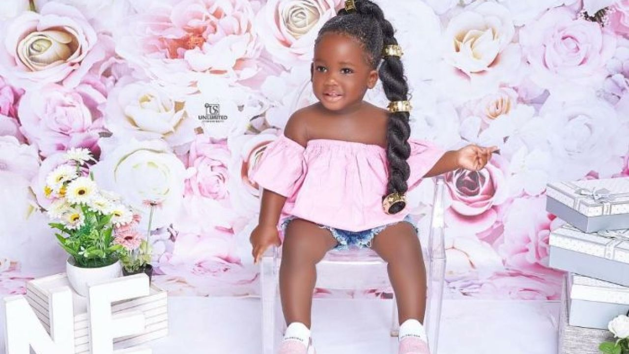 Nyhira At 1 - Tracey Boakye Drops Cute Photos To Celebrate Her Baby Girl's  First Birthday - GhanaCelebrities.Com