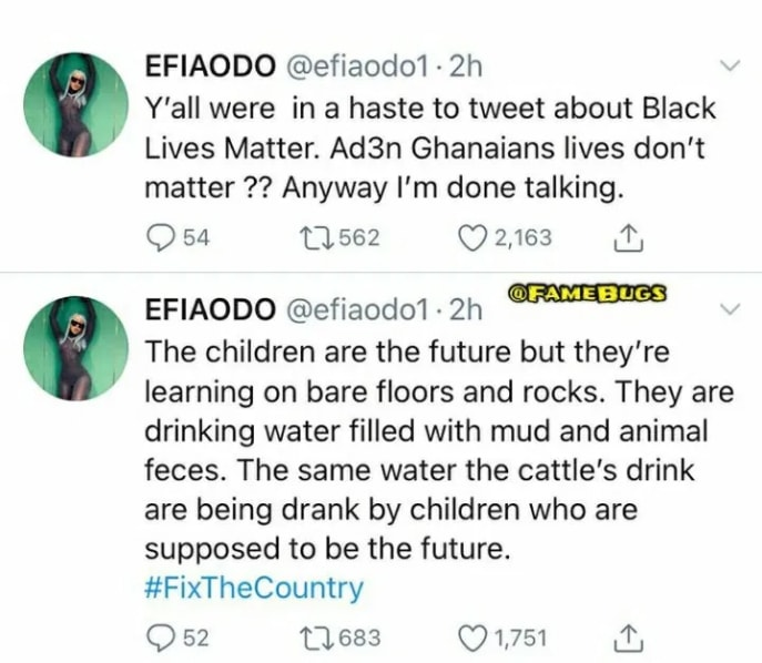 Ghanaian Politicians Use And Throw Us Away Like Condoms – Angry Efia Odo Rants On Twitter. 11