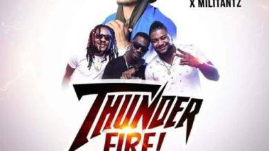 Photo of Audio : Shatta Wale x Militants – Thunder Fire (Prod By Beat Boy)