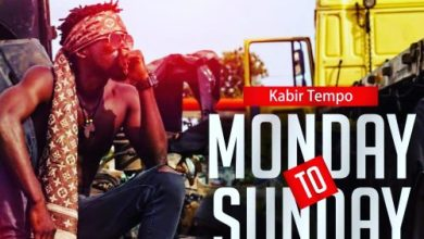 Photo of Download Audio : Kabir Tempo – Monday To Sunday (Prod by Low Beat Gh)