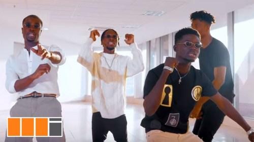 Video : DJ Breezy – Back 2 Sender Ft Kuami Eugene x Darkovibes x Kwesi Arthur