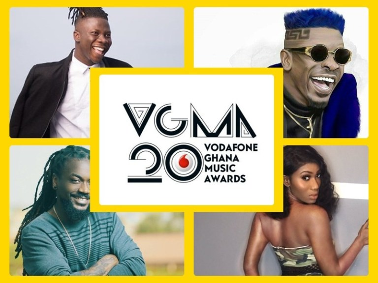 Full List of Nominees - Vodafone Ghana Music Awards 2019
