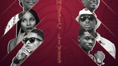 Photo of Download : Amandzeba x Kidi x Kuami Eugene x Adina x Joe Mettle x Teephlow – Our Music Lives (Prod by Kaywa Beatz)