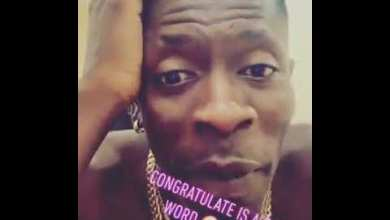 Photo of Shatta Wale – Congratulate Is A Bad Word