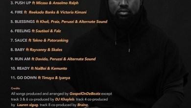 Photo of Download : GospelOnDeBeatz Ft Reekado Banks & Victoria Kimani – Fire