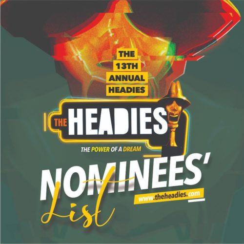 Headies 2019 - Full List Of Nominated Artistes