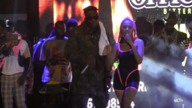 Photo of Medikal and Sister Deborah reunited at 'Welcome to Sowutuom Concert'