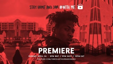 Photo of Kwesi Arthur – Stay Home With Me (Live Session)