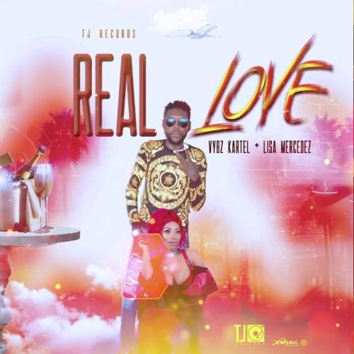 Vybz Kartel Ft Lisa Mercedz – Real Love (Prod By TJ Records)