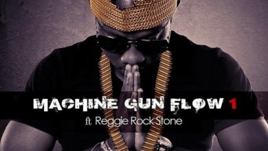 Photo of Flowking Stone – Machine Gun Flow Ft Reggie Rockstone (Prod By Magnom)