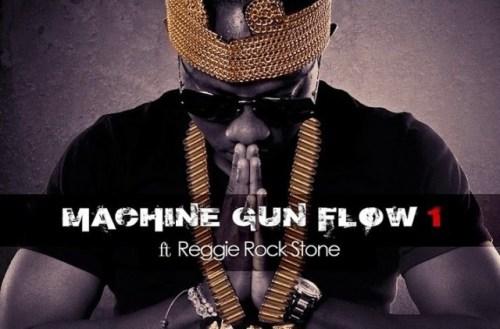 Flowking Stone – Machine Gun Flow Ft Reggie Rockstone (Prod By Magnom)