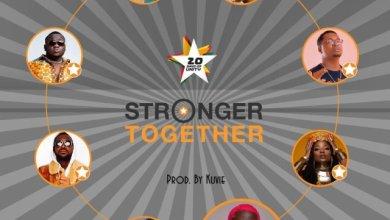 Photo of Efya x Bosom Pyung x Kojo Cue x Fancy Gadam x CJ Biggerman x Pappy Kojo x Yaa Pono x Feli Nuna – Stronger Together