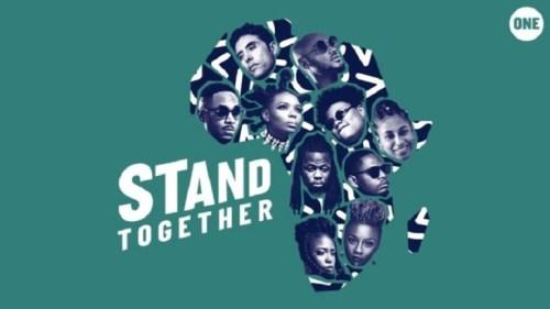 2Baba x Yemi Alade x Teni x Ben Pol x Amanda Black x Stanley Enow x Gigi La Mayne x Betty G x Ahmed Soultan x Prodigio – Stand Together