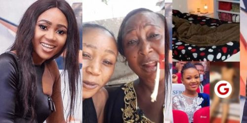 Akuapem Poloo's mother Speaks - Says Daughter's leaked video Was Not intentional (Video)