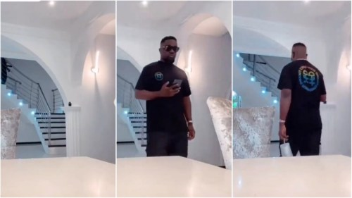 Have You Seen The Interiors Of Sarkodie's Luxurious Mansion Video Here