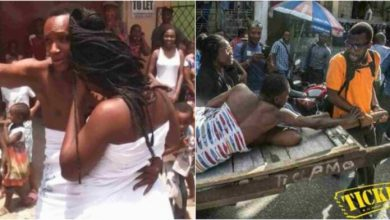 Photo of Young Man Stuck Inside Soldier's Wife When Enjoying Her Forbidden Sweet Fruit – Video