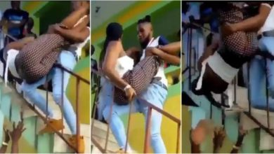 Photo of Boy Nearly Killed A Gyal In The Name Showing Dancing Skills By Mishandling – Video Here