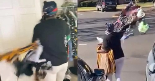 Battle Of Love Ghanaian Woman Sacks Husband By Throwing Clothes Outside - Video