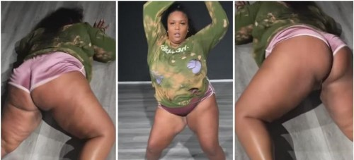 Lizzo Trends Heavily With New Invented Tw3rking Video - Watch Here