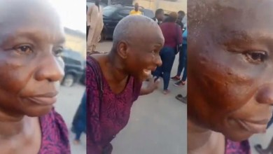 Photo of Oxlade's manager's mother Slapped By Police officer – EndSARS (Video Here)
