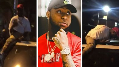 Photo of See What Davido Did To A Ghanaian Fan Who Try To Smash Phone From Him – Video