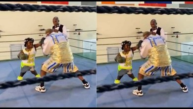Short Boxer, Shatta Bundle Disgrace Ayittey Powers In A Fight - Video