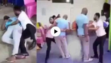 Photo of Pastor Wrestle N Beats Church Members Sake Of Deliverance – Video Below