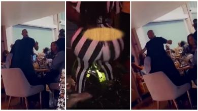 Photo of Restaurant Owner Go Wild On Ladies 4 Tw3rking In His Restaurant – Video