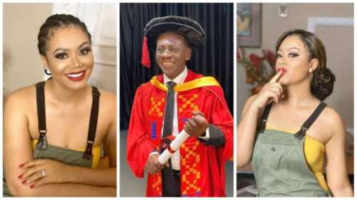 So Nadia Buari Can't Mention Akrobeto's Name - Video Tells Why
